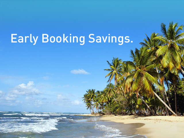 Early Booking Savings