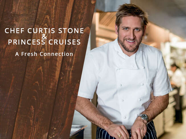 Chef Curtis Stone & Princess Cruises: A Fresh Connection