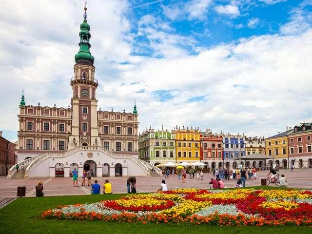 Walk through History in Krakow, Poland