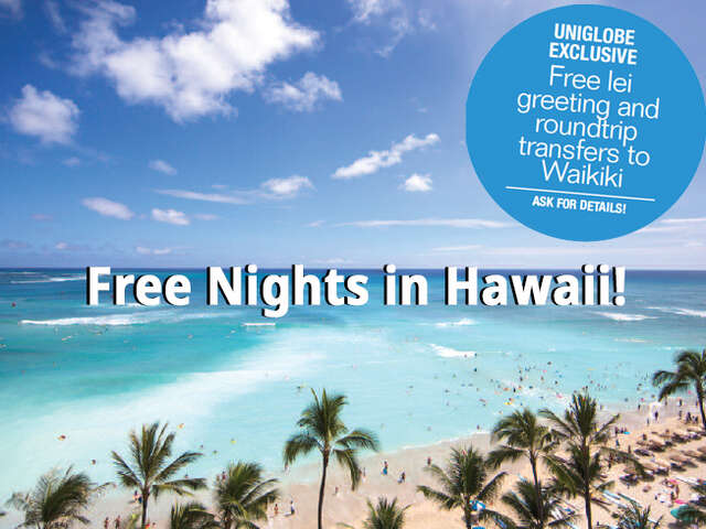 Free Nights in Hawaii