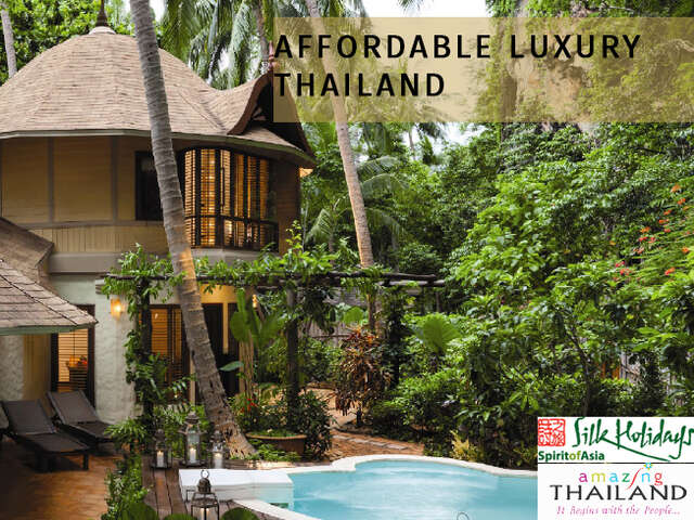 Affordable Luxury in Thailand