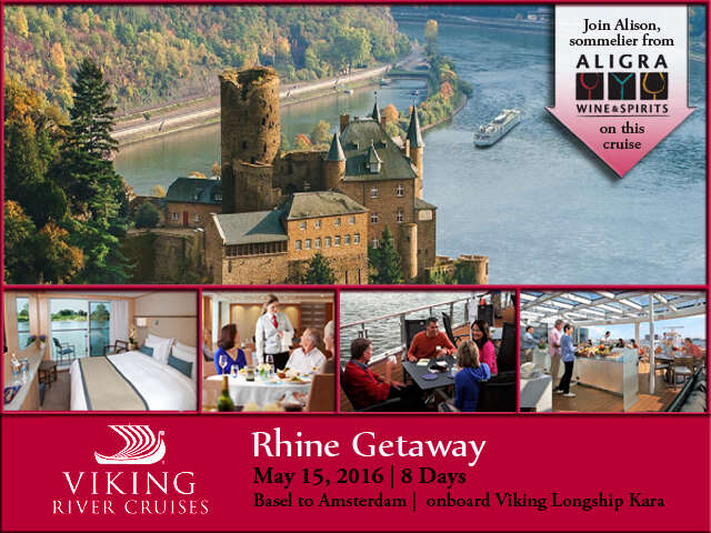 Cruise the Rhine River with Wine Sommelier