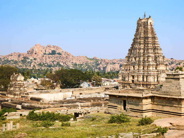 Hampi, India, once one of the largest and richest cities in the world