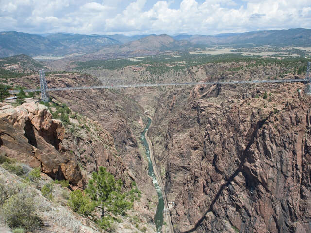 Scream your heart out while enjoying the numerous thrills at the Royal Gorge Bridge, Colorado