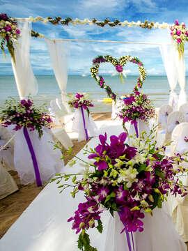 Beaches Wedding Beautiful Beginnings