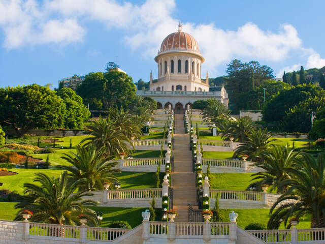 Haifa, Israel, a city where people of different faiths coexists harmoniously