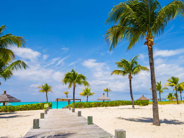 Unplug from the city life, head to Providenciales, Turks and Caicos!