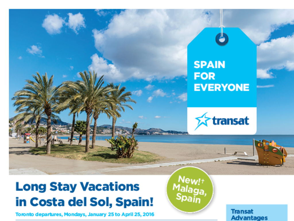 Long Stay Vacations In Costa Del Sol Spain