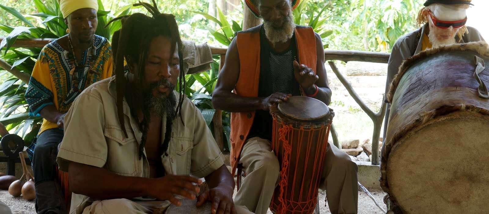 Explore the Rastafarian Village