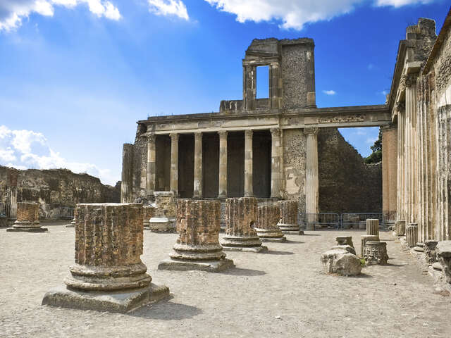 Visit the Ruins of Pompeii, Italy, one of the most popular attractions in the world