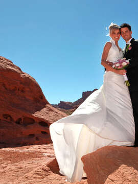 Have a Stunning Backdrop for a Special Day with a Valley of Fire Wedding