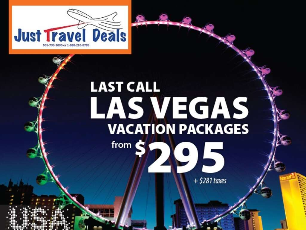 Last Minute Flight Hotel Deals Las Vegas