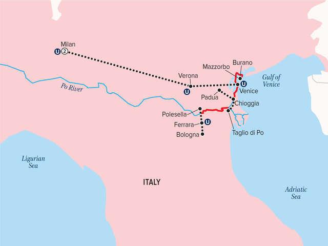 Uniworld - GEMS OF NORTHERN ITALY