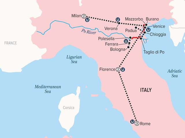 Uniworld - SPLENDORS OF ITALY