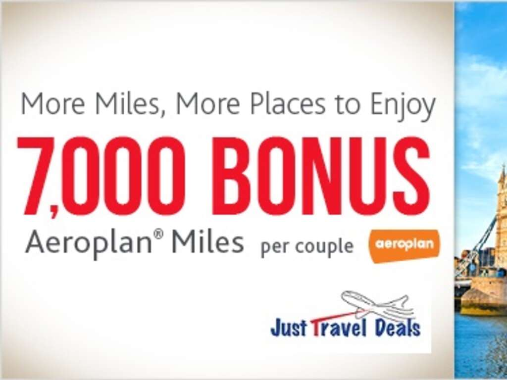 Aeroplan vacation deals
