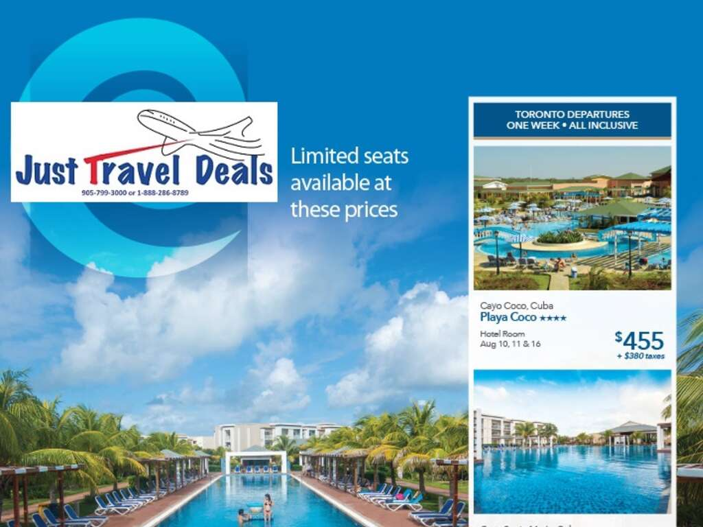 Gaviota Hotels In Cuba From 455 Toronto Departures
