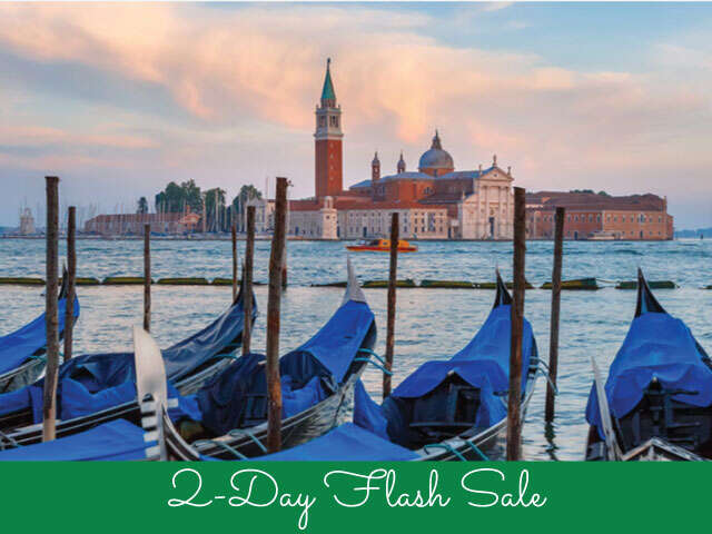 Flash Sale on Italy Tours