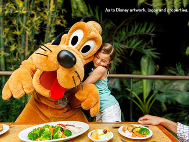 Free Dining Plan at Walt Disney World
