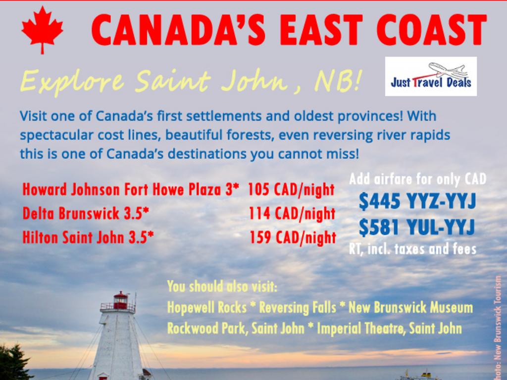 Cheap Hotels Saint John Nb