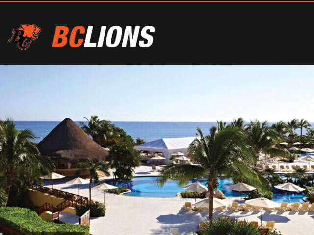 BC Lions 2nd Annual Mexico Fan Trip