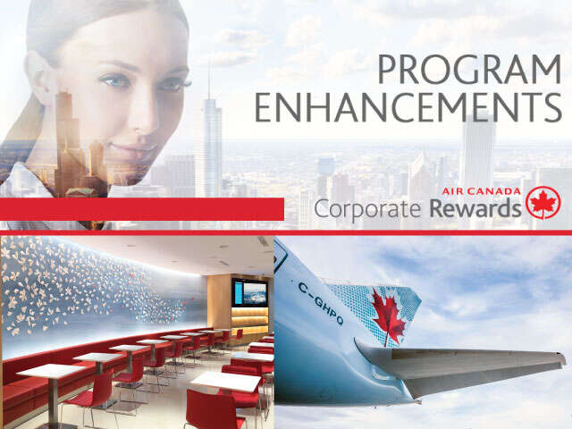 Important Enhancements to Air Canada Corporate Rewards