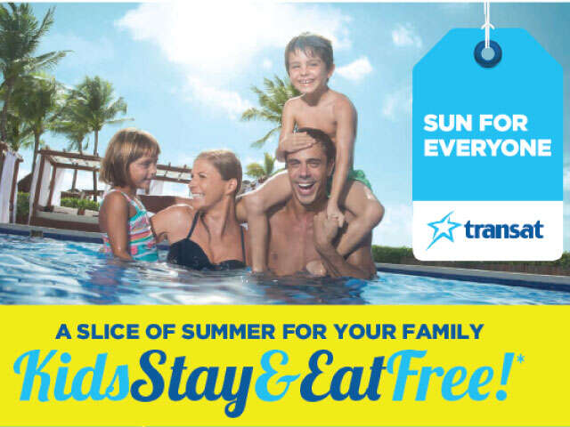 Kids Stay & Eat Free: Summer Sun Packages