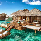 Overwater Bungalows make a Splash in Mexico and the Caribbean