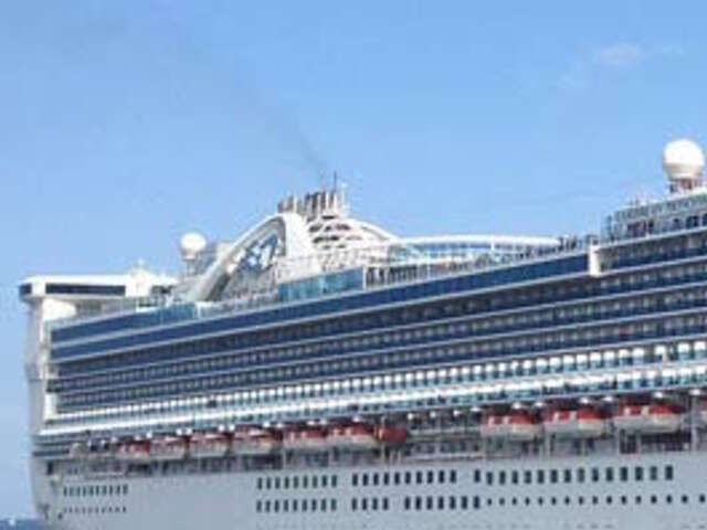 The Caribbean Princess TEMPORARY TIME OUT