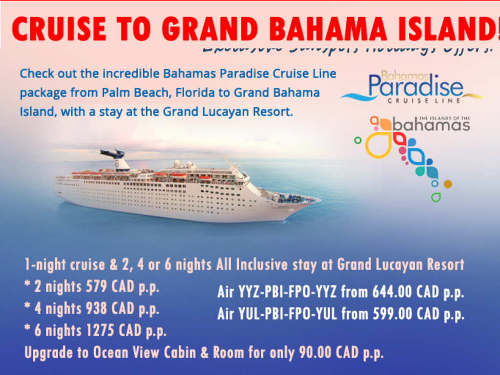 Cruise To Grand Bahama Island Cruises That Visit Grand