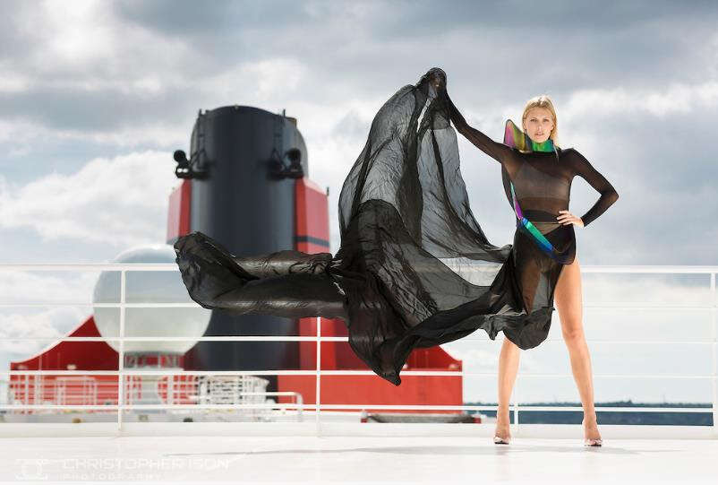 First TransAtlantic British Fashion Week