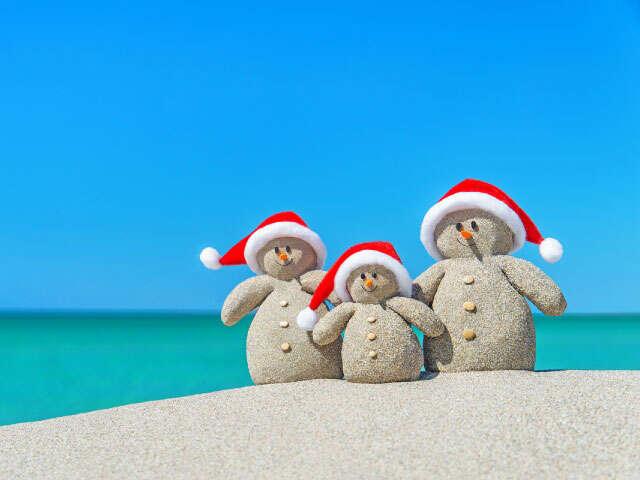 Christmas Holidays Vacations Early Booking Bonuses - MB & SK