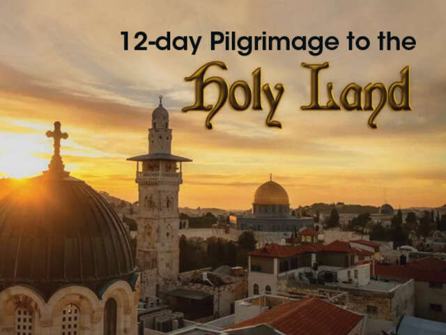 12-day Holy Land Pilgrimage