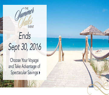 Oceania Cruises Summer Sales Event