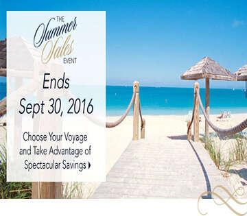 Oceania Cruises Summer Sales Event