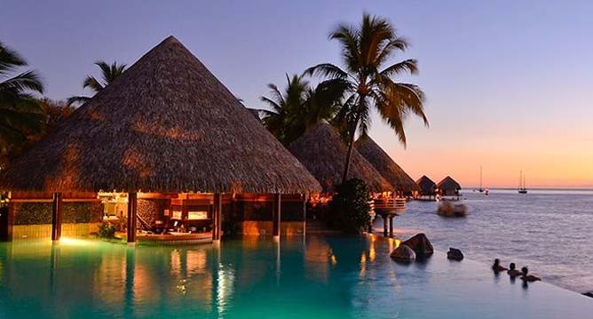 Tahiti, A Honeymoon Paradise