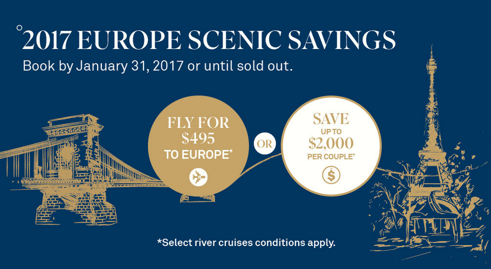 Scenic River Cruise Savings