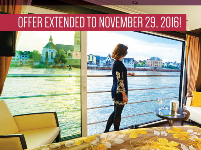 AVALON 10% off Europe Sailings