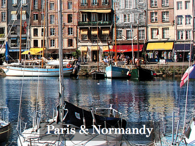 Save up to $1500 on an AmaWaterways River Cruise Paris to Normandy