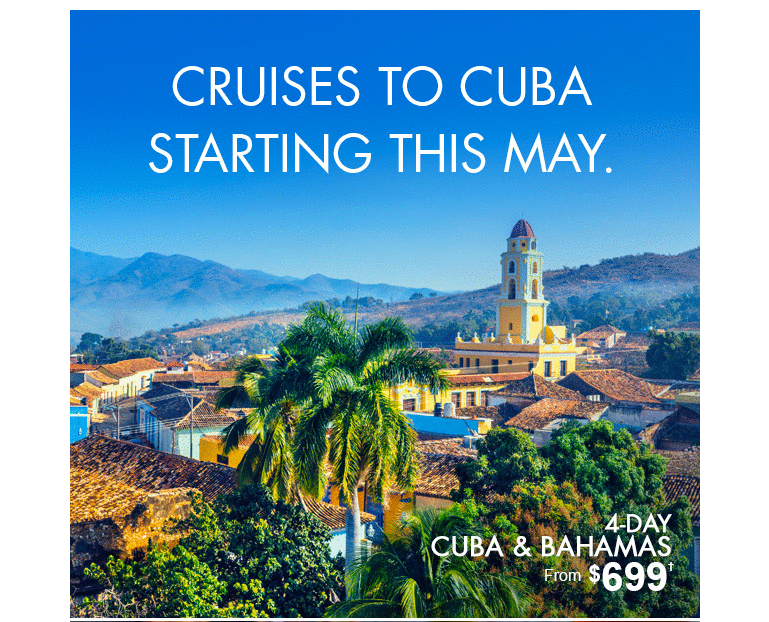 Norwegian Cruise to Cuba from $699