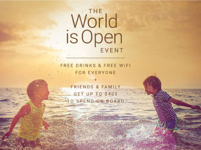 Celebrity Cruises The World Is Open Event