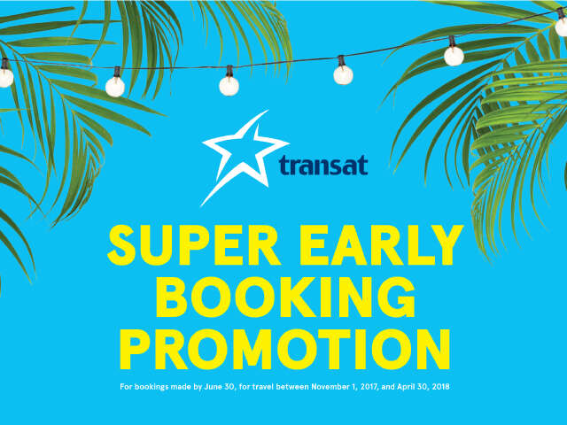 Winter South Super Early Booking Promotion