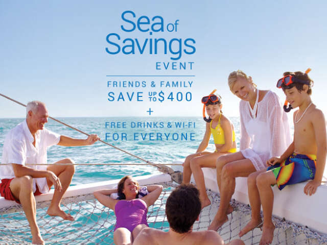 Celebrity Cruises Sea of Savings Event