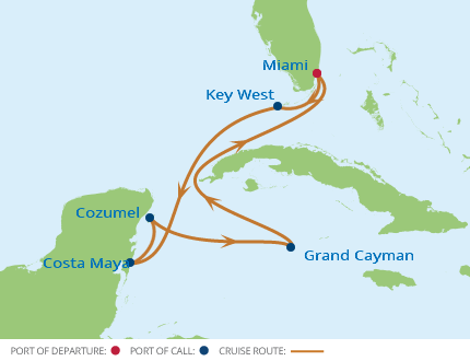 7-Night Western Caribbean CME Cruise August 13-20, 2017