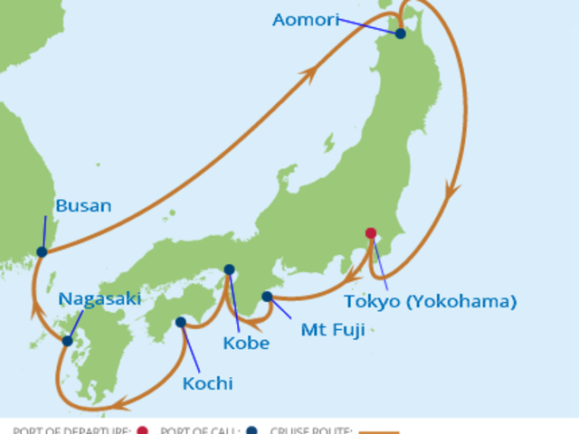 11-Night Japan CME Cruise September 24-October 5, 2017 *SOLD OUT*