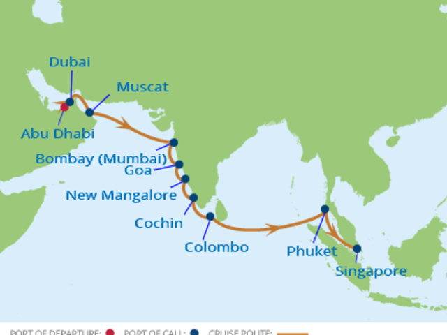 15-Night India Sri Lanka CME Cruise March 23-April 7, 2018 *SOLD OUT*