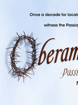 Register for Oberammergau Passion Play 2020