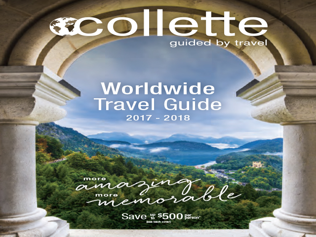 Save up to $500 on a Collette Tour