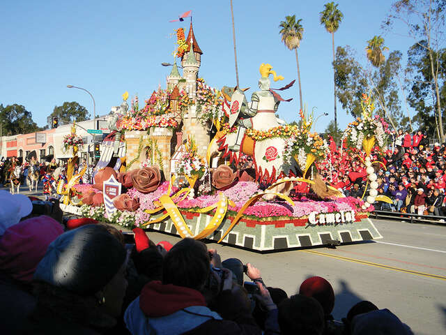 Kick off 2018 at the Tournament of Roses Parade!