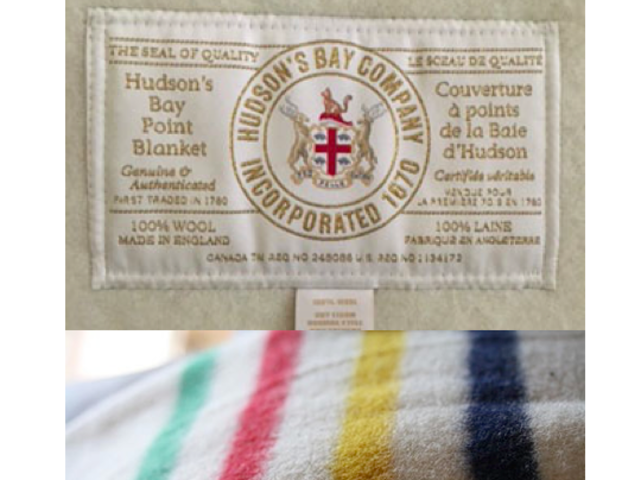 ee476c6b To cuddle – A Hudson's Bay Company Blanket