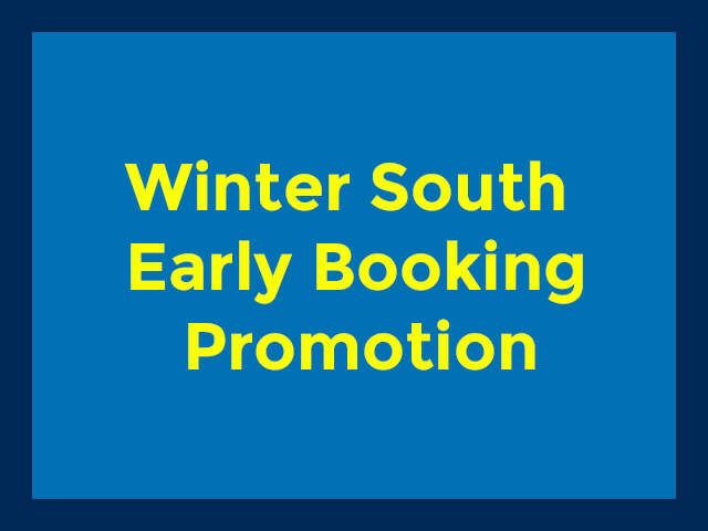 Winter South Early Booking Promotion